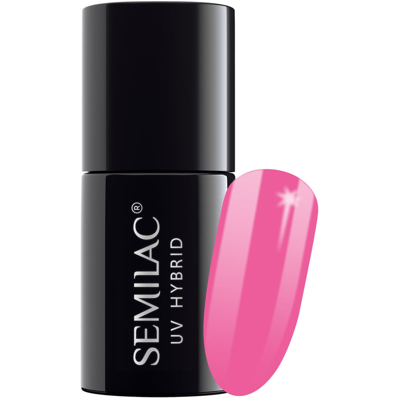 Semilac 277 Light Fuschia UV Gel Polish 7 ml - FlowertushBeauty