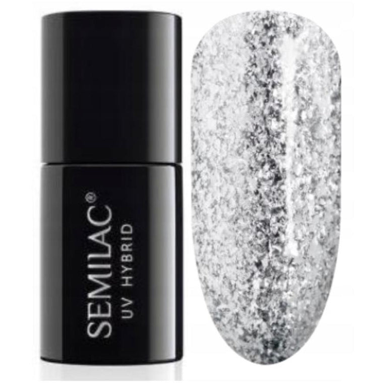 Semilac 292 Silver Shimmer UV Gel Polish 7 ml