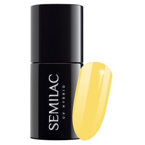Semilac 531 Joyful Yellow UV Gel Polish 7 ml