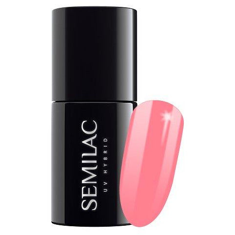 Semilac 533 Brave Coral UV Gel Polish 7 ml
