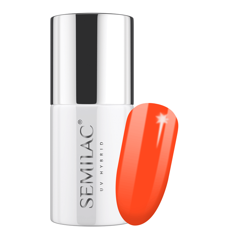Semilac 554 Loud Mandarin UV Gel Polish 7 ml