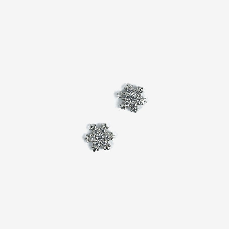 Semilac Decoration Silver Snowflakes 779