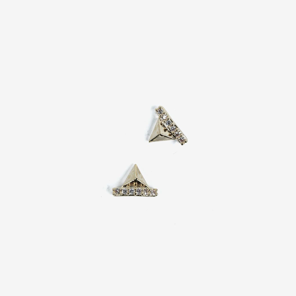 Semilac Decoration Golden Pyramids 782
