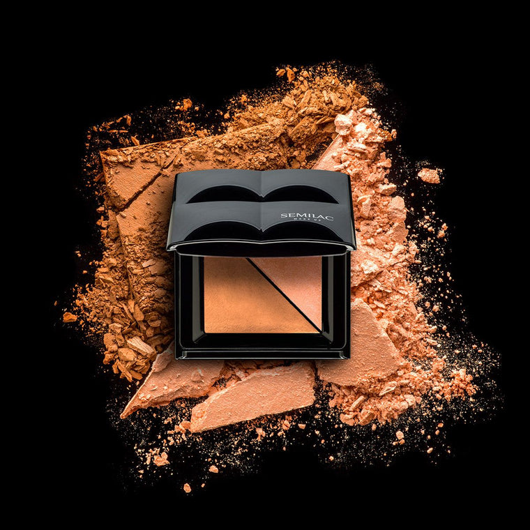 Semilac Bronzer and Highlighter Sunny Bronze