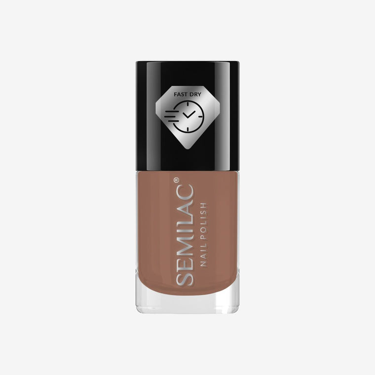 Semilac Nail Polish Fast Dry C230 Brown