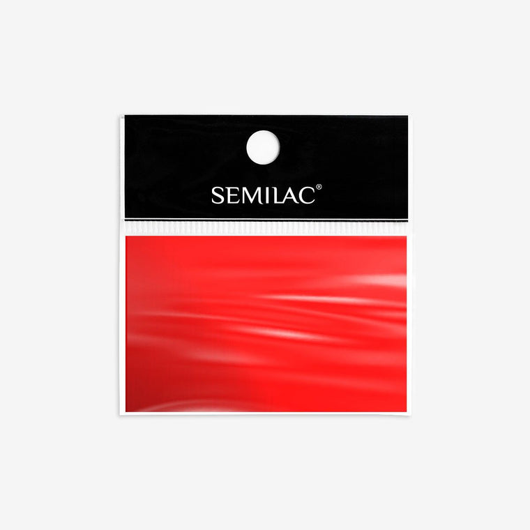 Semilac Nail Transfer Foil Red 746