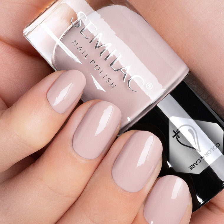 Semilac Nail Polish Colour & Care C227 Beige