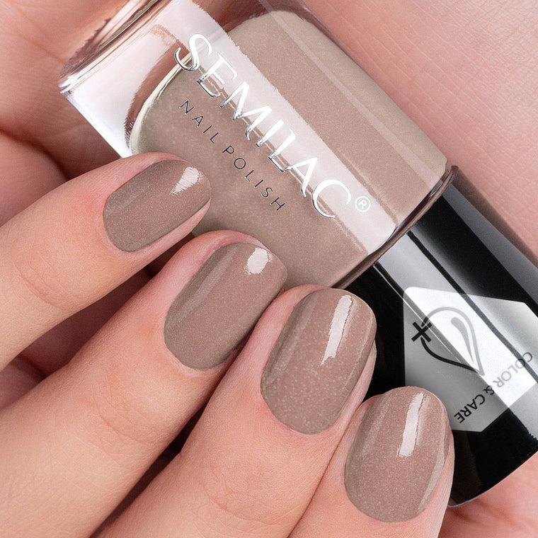 Semilac Nail Polish Colour & Care C234 Beige