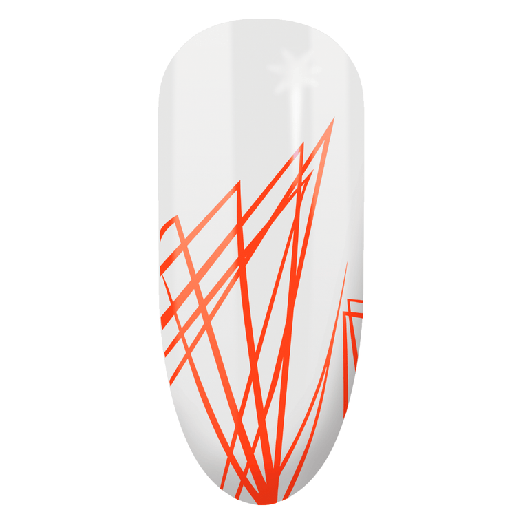 Semilac Spider Gel Gum Neon Orange - FlowertushBeauty
