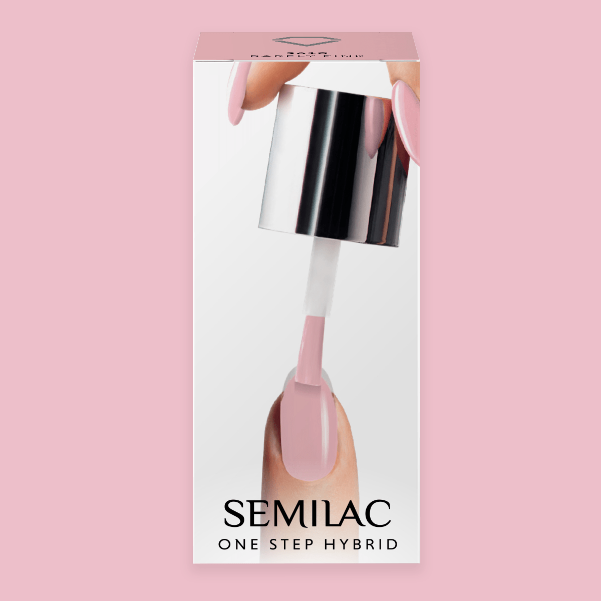 Semilac One Step Hybrid Gel Polish 5ml 610 Barely Pink - FlowertushBeauty