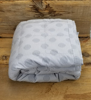 Ready to ship 17lbs Double/Full Weighted Blanket Single Color