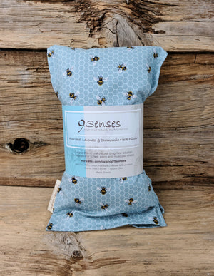 Medium Flaxseed, Lavender & Chamomile Neck Pillow