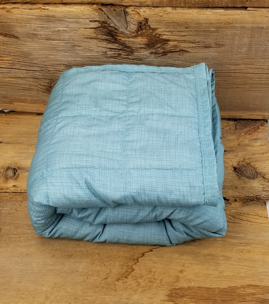 Ready to ship 15.8lbs Single/Twin Weighted Blanket