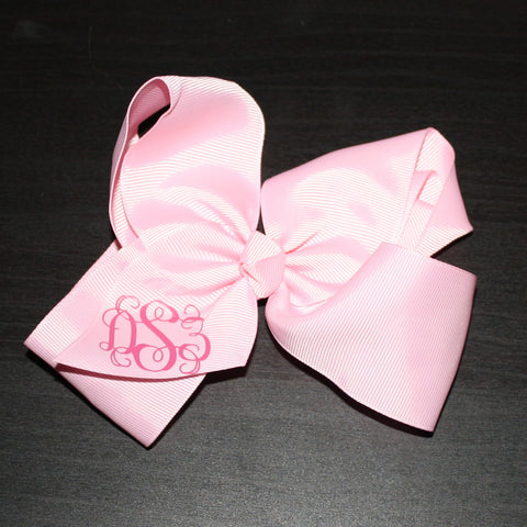 6 inch Carnation Bow-dSz