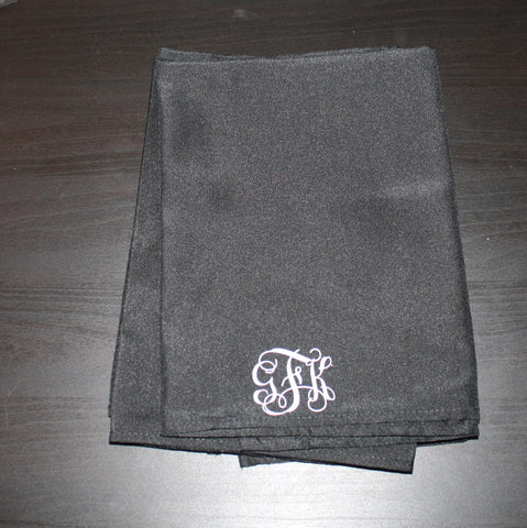 Black Napkins Set of 4 -gFk