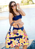 Navy Swim Bandeau Top