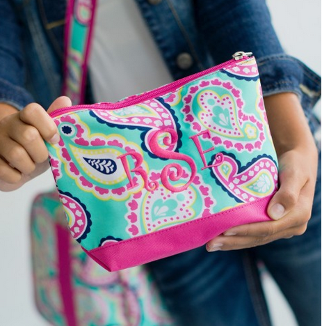 Paisley Toiletry Bag