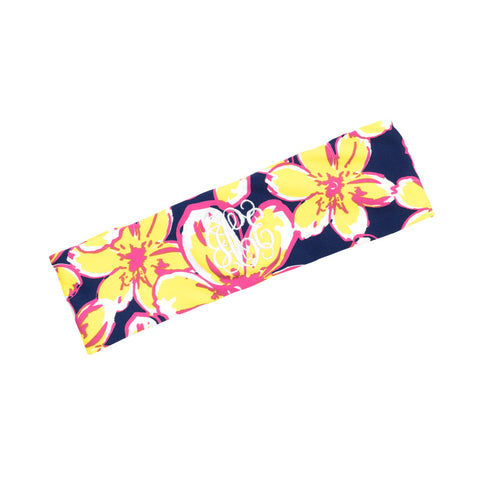 Beach Floral Active Headband