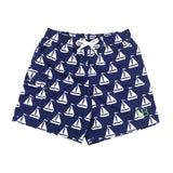 Boy's Sail Away Swim Trunks