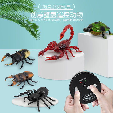 Tricky toy electric toy _ pin centipede scorpion beetle