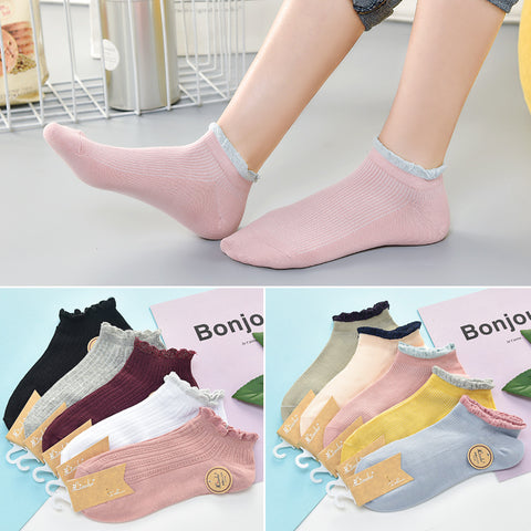 Pack of 5 - Fashion women's socks_Liaohe ladies double
