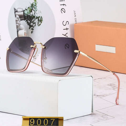 New Sunglasses_2019 New Sunglasses Polygonal Round Face