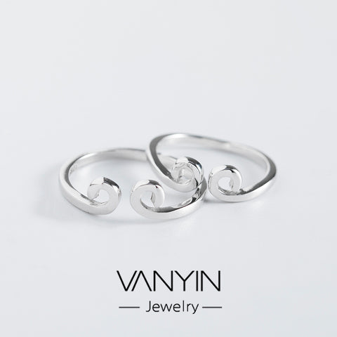 Tight hoop ring_Wan Ying Jewelry Manufacturer s925