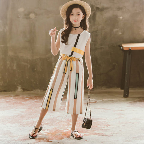 Children's suit _ girls 2019 Korean version of the stylish