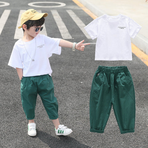Boy suit _Boy 2020 new summer clothes children's