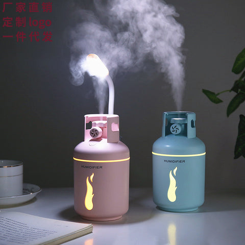 Air Humidifier_Gas Tank Humidifier Air Three-in-One