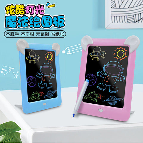 LED luminous drawing board electronic fluorescent writing