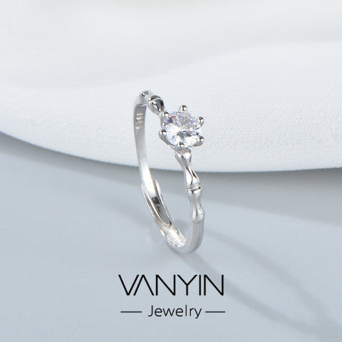 Birthday Gift_Wan Ying Jewelry Bamboo Ring S925 Sterling