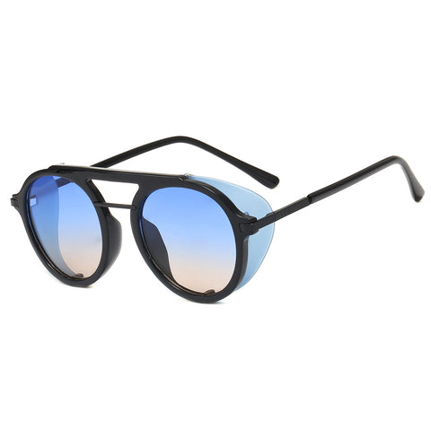 New sunglasses _ steampunk sunglasses European and