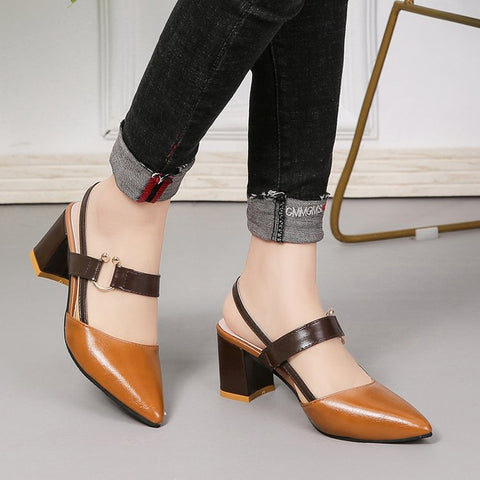 Baotou sandals _ women's shoes 2019 new summer Baotou