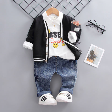 Autumn new children's clothing_2019 autumn new children's