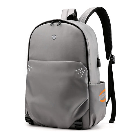 Computer backpack _ simple student schoolbag men street