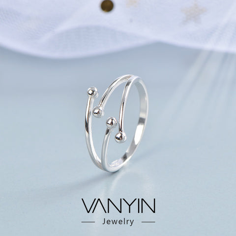 Meteor shower ring_wanying jewelry line meteor shower female
