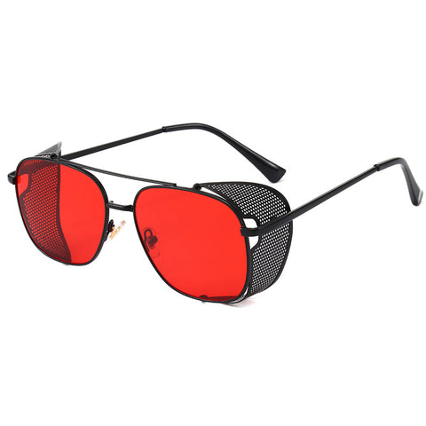 New sunglasses _ cross-border hot selling punk flip
