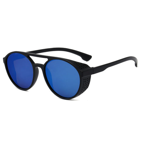 Sunglasses_punk round frame sunglasses 2020 new sun retro