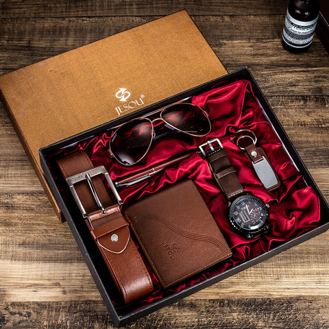 Menstyle European Boutique Quality Watch Gift Set For Men