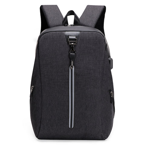 Student schoolbag _ large capacity business backpack men