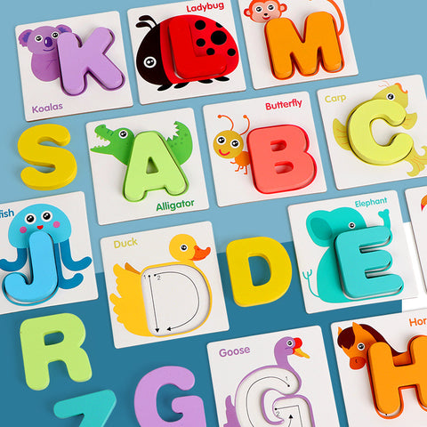 Early education toys _ digital cognitive puzzle jigsaw