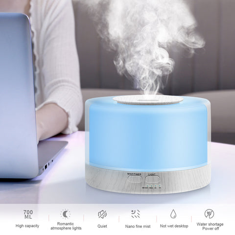 Electronic product aromatherapy lamp_700ml humidifier