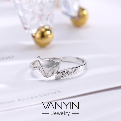 Ring sterling silver_Wan Ying factory direct sales cute