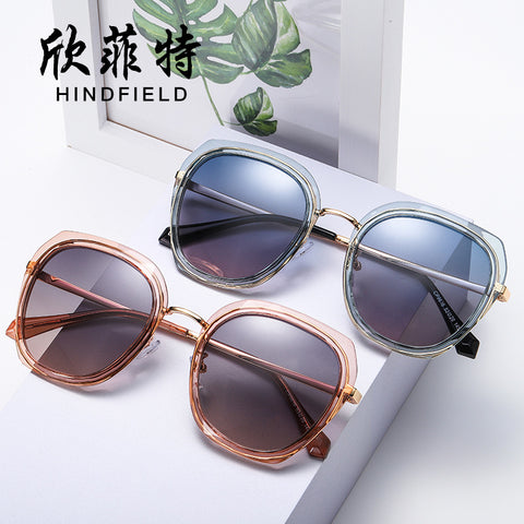The new high-end sunglasses polarizer Ms. fashion metal