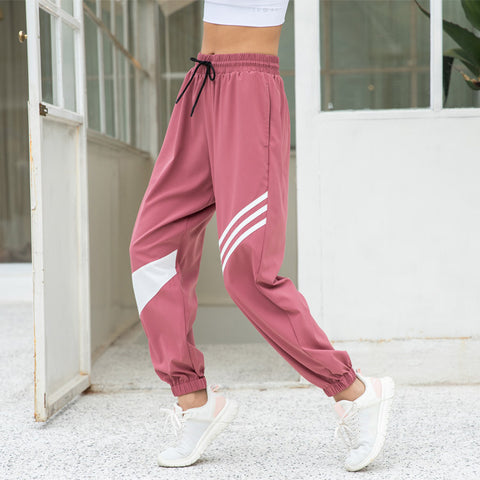 Casual pants_2020 sports gym pants women loose thin yoga
