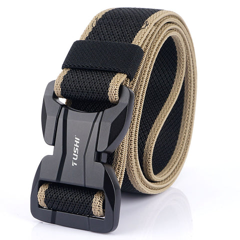 Leisure belt _2020 new alloy magnetic buckle lightweight