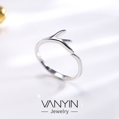 Sterling silver accessories _ Wanying factory direct antlers