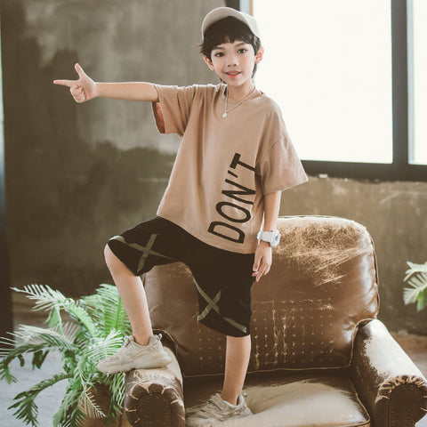 Boy suit_Boy suit 2020 summer new medium and large