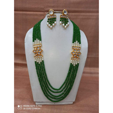 Muktinath Ethnic Beads Necklace Set For Women 13